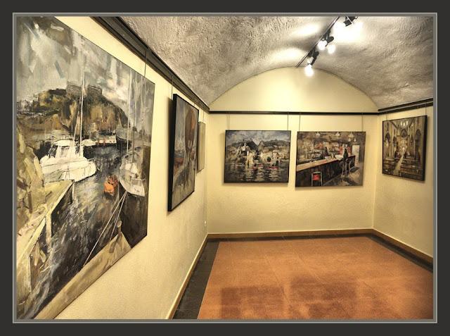 BEGUR-PINTURA-SALA D´ART-ESCOLES VELLES-EXPOSICIO-FOTOS-PINTOR-ERNEST DESCALS-