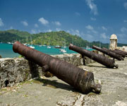 Fortifications on the Caribbean Side of Panama