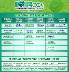 AGENDA ECON DE 24 Á 29 DE ABRIL