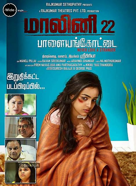 Malini 22 Palayamkottai Movie Wallpapers