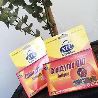 ATC Coenzyme Q10, Health,