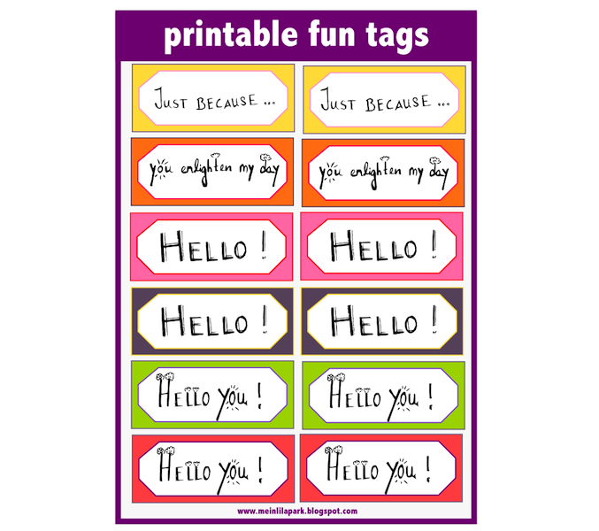 free digital and printable fun word art tags and DIY ...