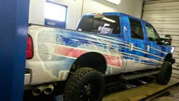 Rex Ryan's New Bill's Truck