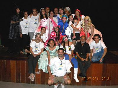 Grupo Teatral Turma do Luizinho - Projeto JL Vida