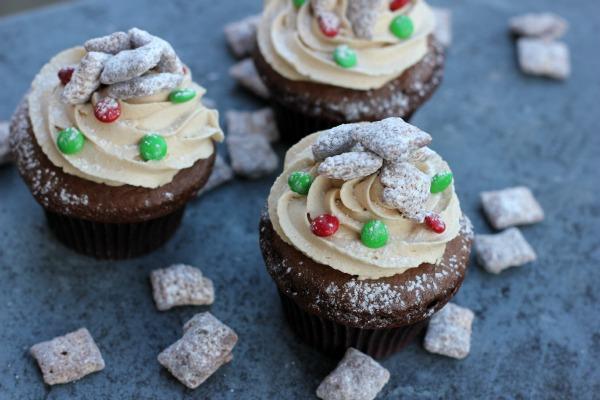 Chex Muddy Buddies Cupcakes