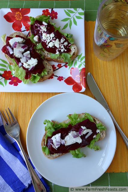 http://www.farmfreshfeasts.com/2013/07/open-faced-shaved-beet-sandwiches.html