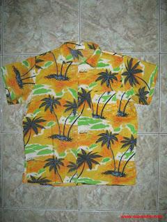 Áo đi biển, Áo Hawaii đi biển, Áo Hawaii hoa văn cây dừa đẹp