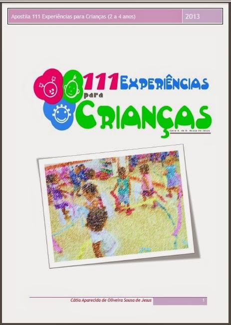 Apostila 111 Atividades para crianças de 2 a 4 anos