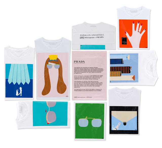 Brand Spotter: Prada's Graphic Tee Capsule Collection