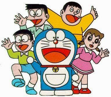 30 Gambar Kartun Doraemon Lucu Ayeey Com