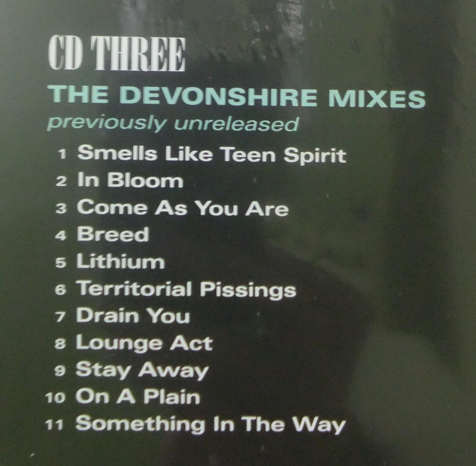 Music Haven Rarities 48 Nirvana Nevermind 20th