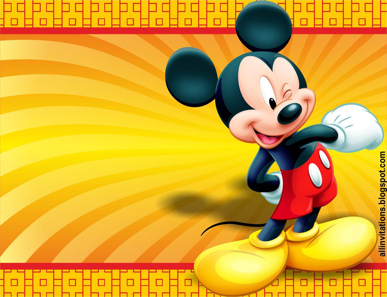Invitación Mickey Mouse | All Invitations