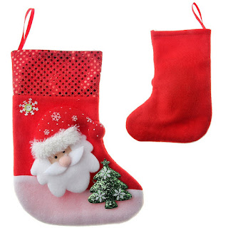 Wonderful Personalized Santa Stockings as Christmas Gifts