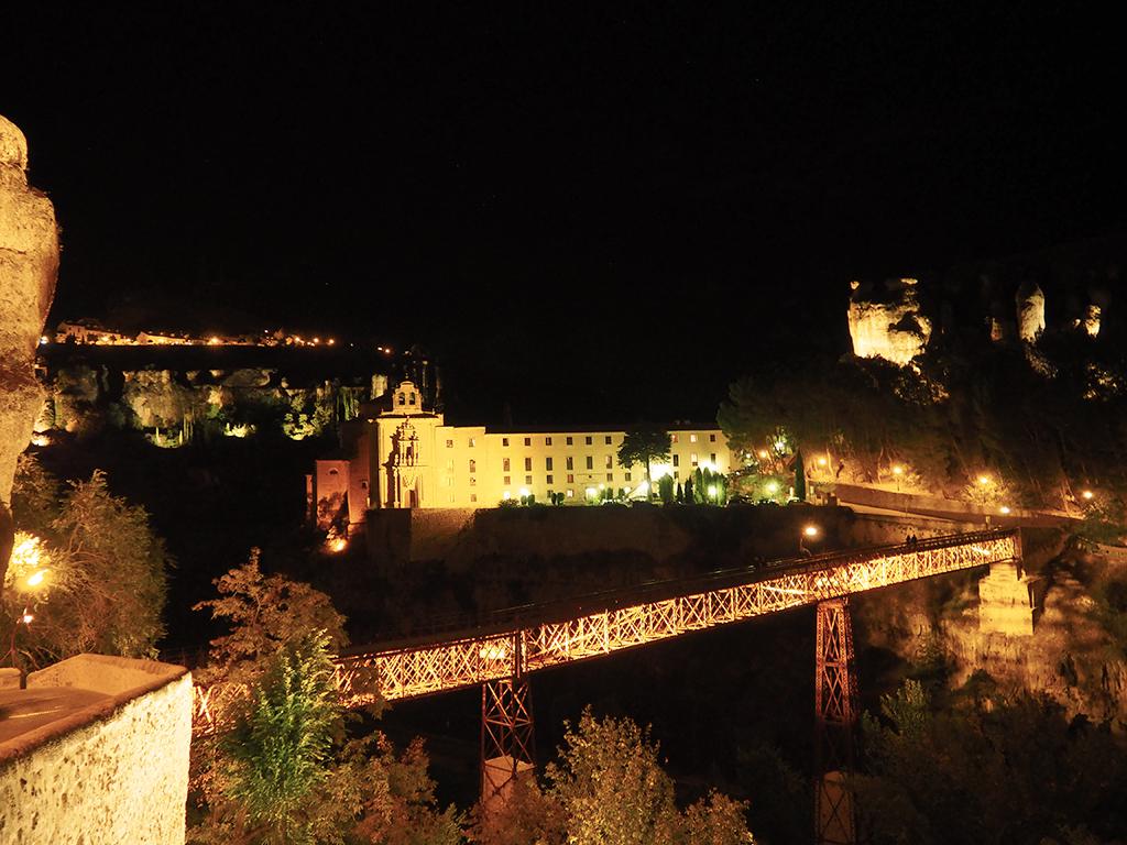 Fotografía nocturna Parador Cuenca