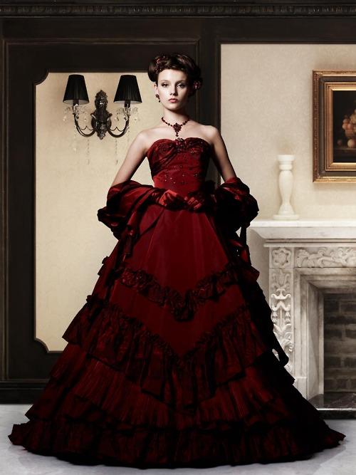 Takami Red Wedding Dresswedding Dresses