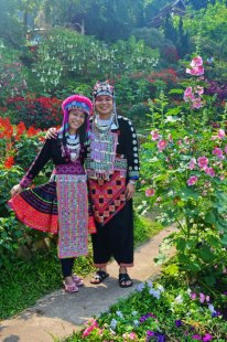 Doi Pui, Hmong Tribe Village