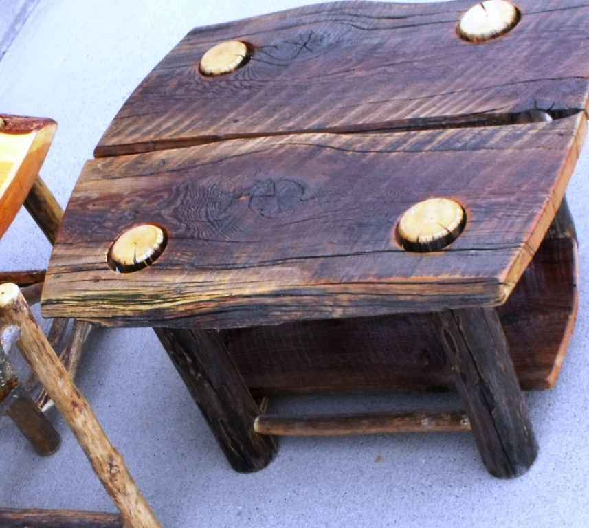 High Creek Reclaimed Barn Wood Coffee And End Tables Carpenter Papa