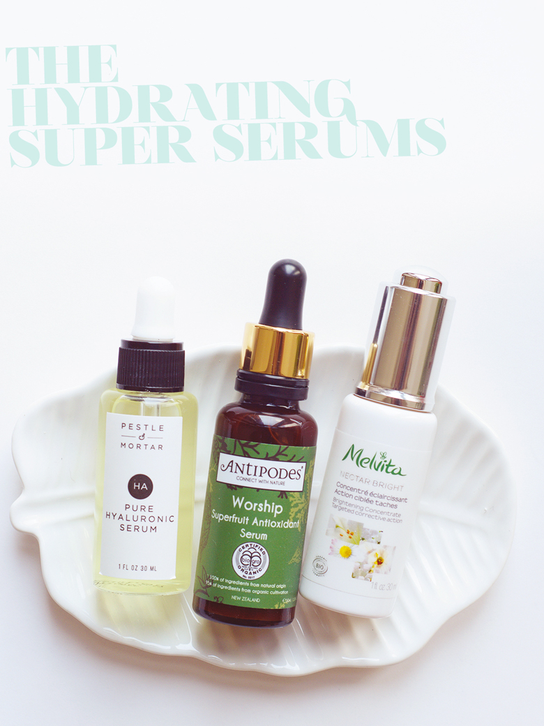 The Hydrating Super Serums.
