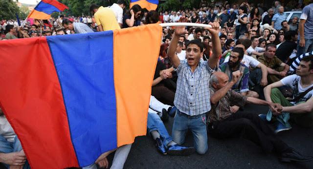 Biểu tình ở Armenia