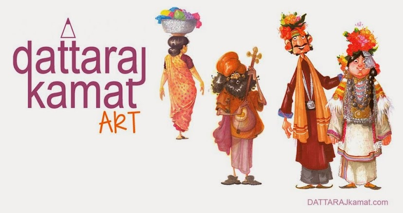 DATTARAJ KAMAT Animation art