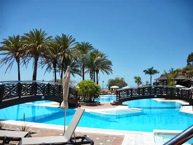 piscina hotel Melia, Tenerife