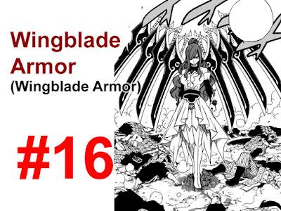 wingblade armor Erza scarlet
