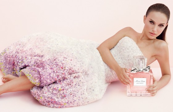 Natalie Portman For Miss Dior Perfume 2013.