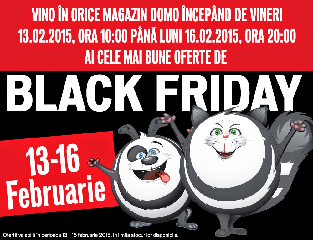 DOMO Black Friday 13-16/2