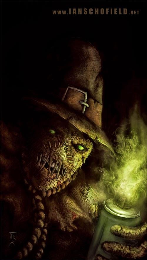 Scarecrow area
