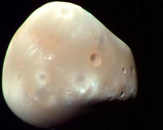 Luna Deimos de Marte