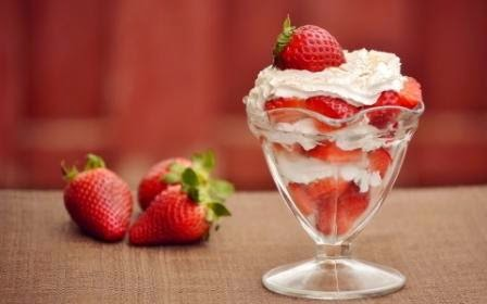 resep bikin ice cream strawberry