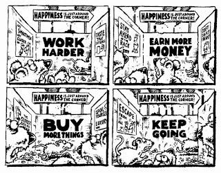 Rat Race humour cartoon