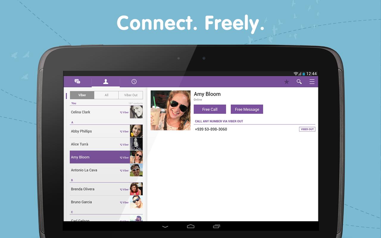 Viber Android Apk Uygulama resimi 1