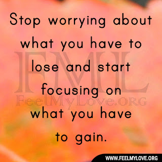 Stop worrying about what you have