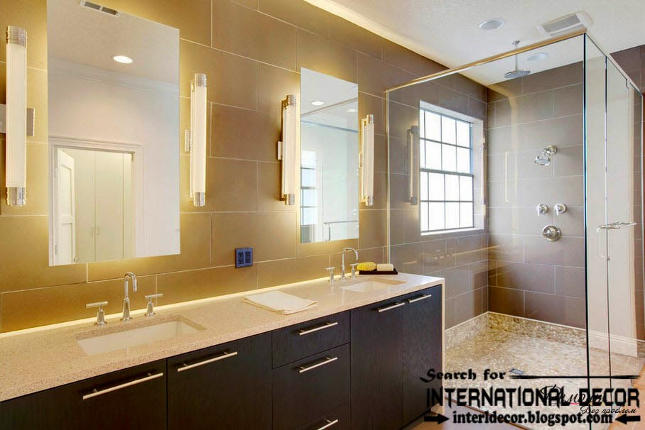 Contemporary bathroom lights and lighting ideas & Contemporary bathroom lights and lighting ideas | Home Decorating azcodes.com