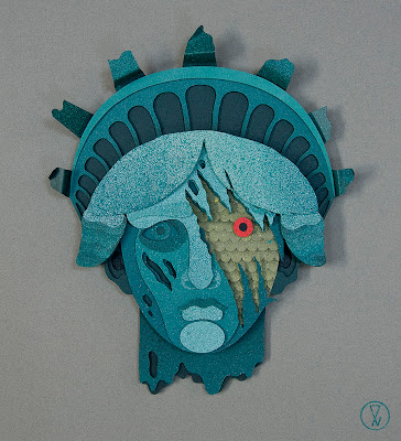 Gallery 1988 presents The Bad Robot Art Experience - Cloverfield by Eelus