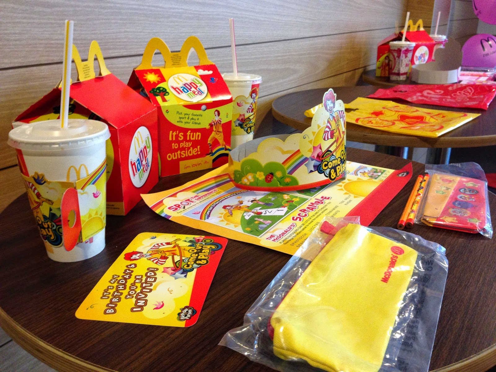 TIGERLIM McDonald s Birthday Party Package