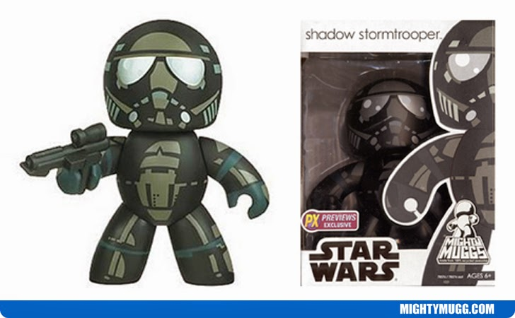 Shadow Stormtrooper Star Wars Mighty Muggs Exclusives