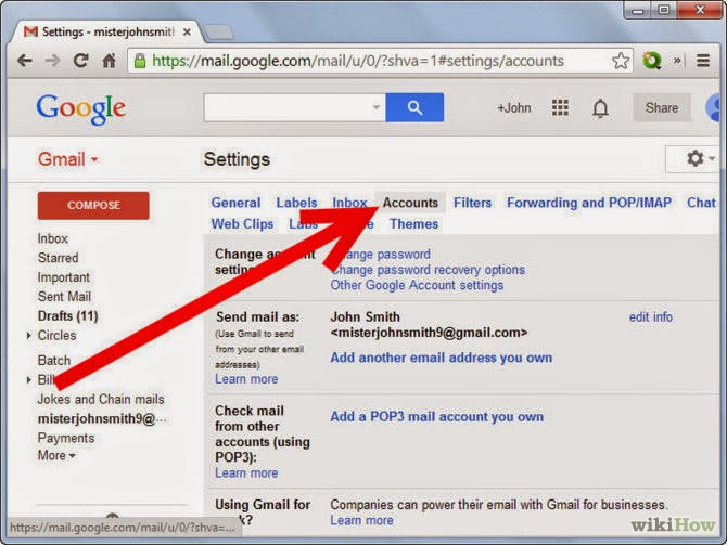 how to change username in google account