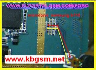 Samsung B100 mic problem solution