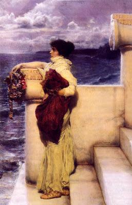 Cuadro de Lawrence Alma Tadema, Gloria Fuertes, poesía en Alcalá de Henares