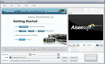 %5BDS.us%5D+Screen+Shot+ +Aiseesoft+Total+Video+Converter+6.1.20+%281%29 Aiseesoft Total Video Converter 6.1.20