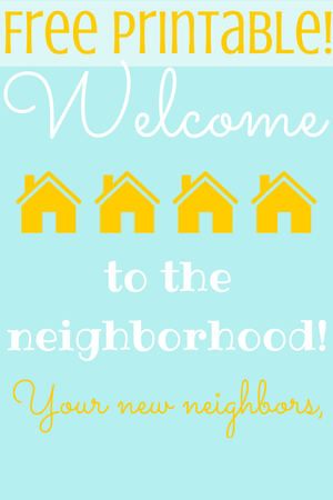 photograph relating to Welcome to the Neighborhood Printable identified as She Builds Her House: Welcome in direction of the Community No cost