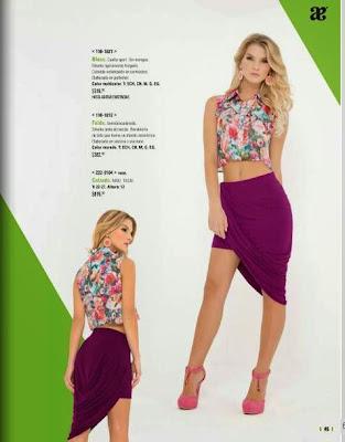 outfit de verano 15 con falda y blusa
