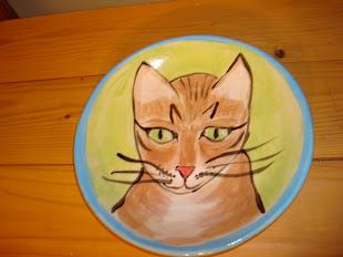 Early Kitty Zoe plate