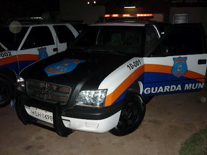 Vtr da GM de Campo Grande - MS