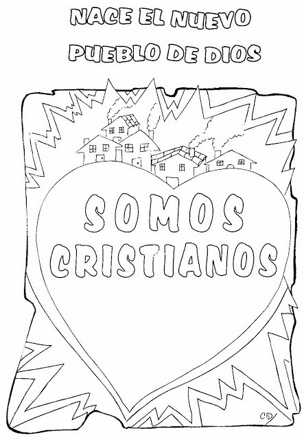 foto de Imagenes Cristianas Para Colorear: Dibujos Cristianos Para
