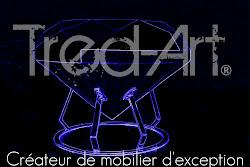 Expo au magasin R : Tred-Art, 2 jeunes créateurs de mobilier puydomois