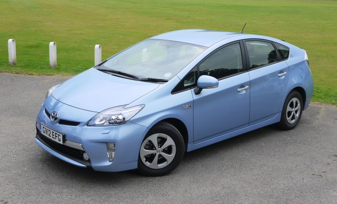 Toyota Prius Plug In From The Front