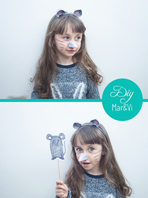 máscara de cartón de huevo para niños